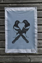 'Two for Joy' Tea Towel.