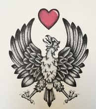 Griffon and Heart.